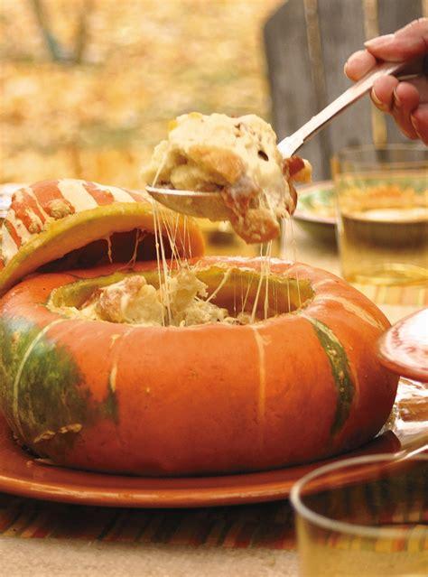 courge turban farcie au pain  au fromage ricardo
