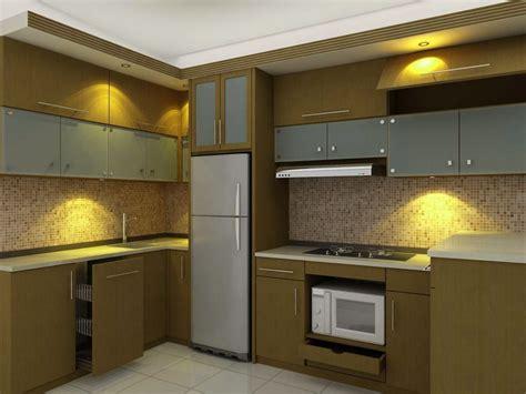 kumpulan gambar desain kitchen set minimalis  rumah