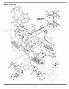 Mtd 610 Hydrostatic Lawn Tractor Mower Parts List