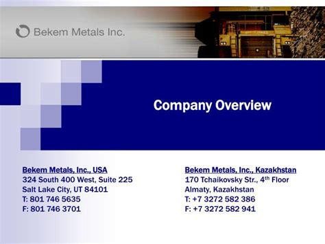 PPT - Company Overview PowerPoint Presentation, free ...