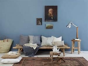 peinture murale et combinaisons couleurs interieur moderne With delightful quelle couleur avec du bleu 11 quelle couleur pour un salon 80 idees en photos