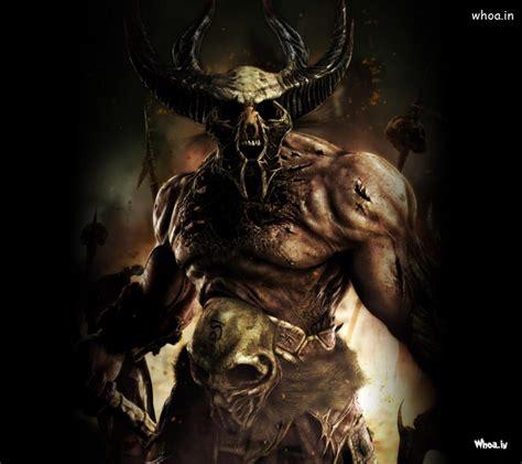 bull skull hd wallpaper