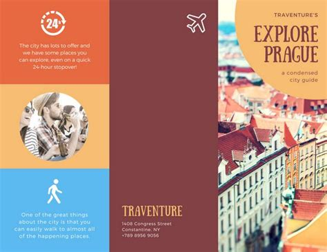 Travel Brochure Template Travel Brochure Template Csoforum Info