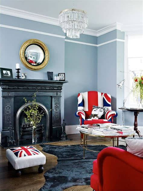 living rom  union jack upholstered arm chair  foot