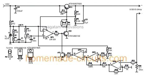 Variable Power Supply Circuit Homemade