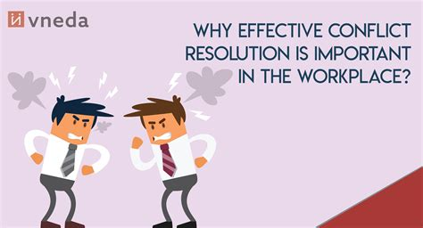 effective conflict resolution  important
