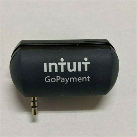 Quickbooks card reader is made to work with the gopayment app and other qb products. Intuit GoPayment Credit Debit Card Reader Quickbooks 3.5mm ...