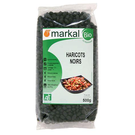 recette de cuisine sans gluten haricot noir légumineuses sèches produit bio markal