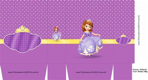 Sacolinha Princesa Sofia A3 Fazendo a Nossa Festa
