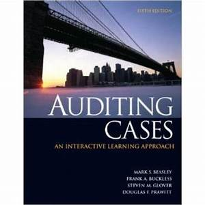 Auditing Cases Solution Manual Beasley