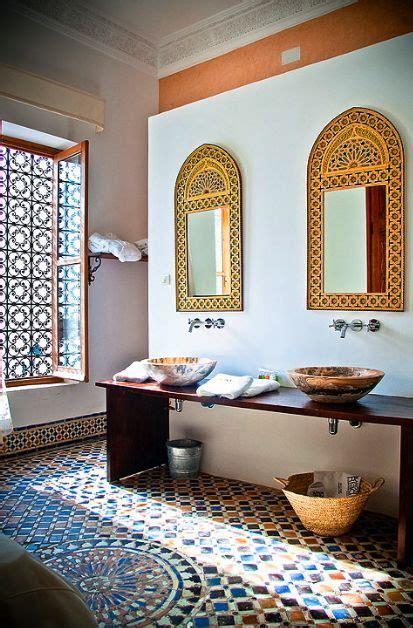 bathrooms  oriental style moroccan bathroom moroccan