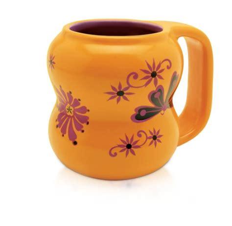 Miam Miam Flora Saffron Coffee Mug, Unique Mug