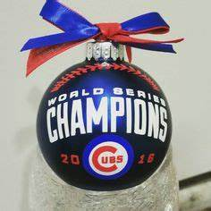 Chicago Cubs 2016 World Series Champions Trophy Ornament