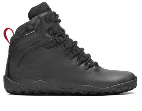 Moofeat Tracking Boots Black tracker fg mens lifestyle road shoes vivobarefoot