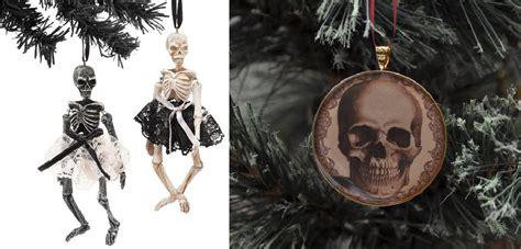 christmas skull  skeleton decorations