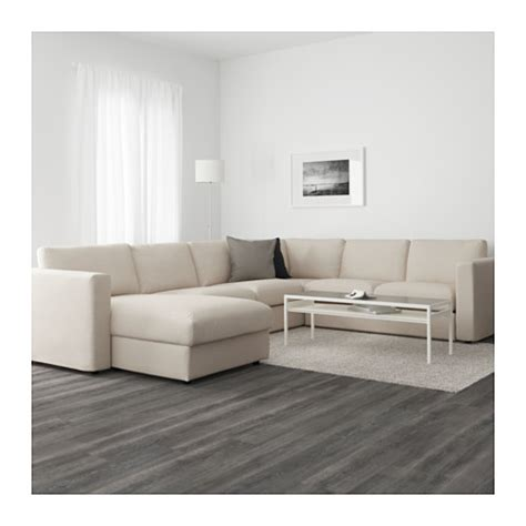 Couch With Sofa Bed by Vimle Corner Sofa 5 Seat With Chaise Longue Gunnared