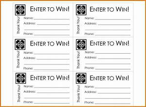 free printable raffle ticket template raffle ticket With raffel ticket template