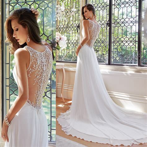 Simple But Elegant Wedding Dresses