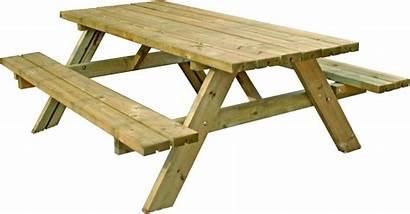 Table Clipart Picnic Transparent Tables 3d Wooden
