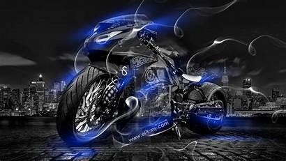 Tony El Neon Wallpapers Bike Cars Smoke