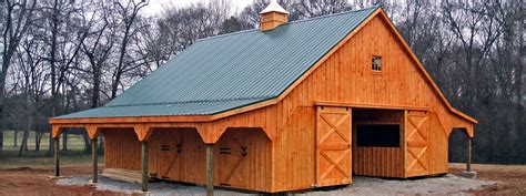 horse barns horizon structures