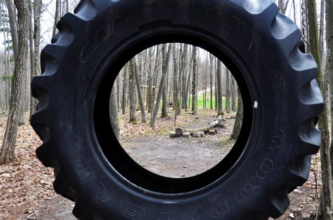 Tractor Tire Picture Framing