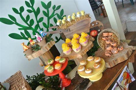 Winnie The Pooh Decoration Ideas - kara s ideas rustic winnie the pooh 1st birthday