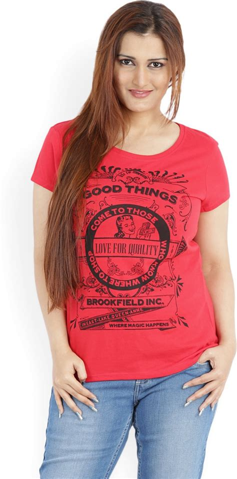 53196 Hpe Clothing Discount Code by Printed S Neck T Shirt Buy