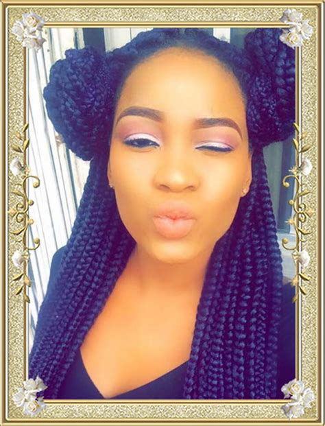 Black Braid Hairstyles by 60 Delectable Box Braids Hairstyles For Black