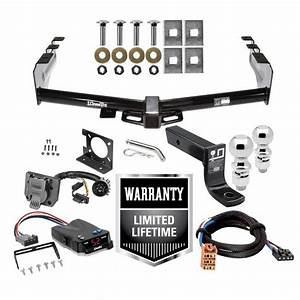 Trailer Hitch Brake Control And Wiring Kit For 99