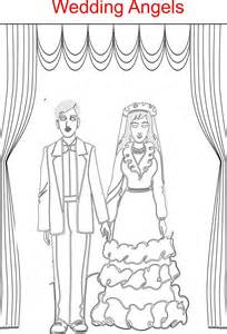 Kids Wedding Coloring Pages Printable