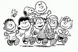 Coloring Peanuts Pages Snoopy Characters Thanksgiving Brown Charlie Easter Valentine Clipart Woodstock Print Friends Printable Template Popular Library Templates Christmas sketch template