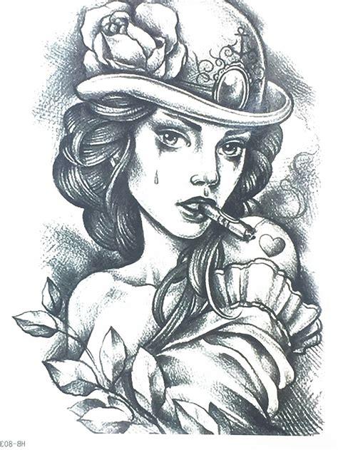 New Fashion Sexy Girl Wirh A Cigarette Flash