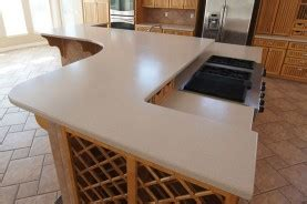 Corian Countertop Cost by Corian Silestone And Other Solid Surfaces