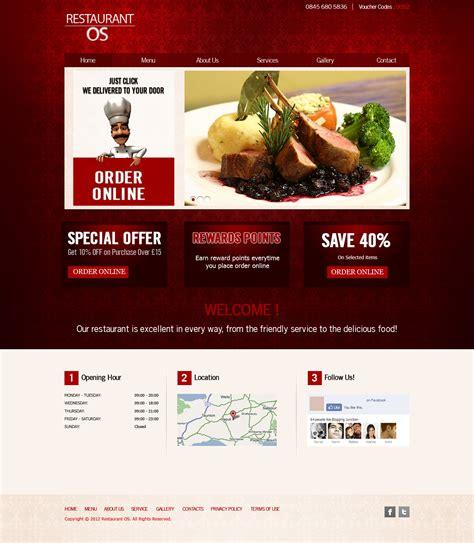 restaurant website templates restaurant fast food takeaway pizza website templates