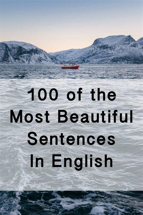 incredibly beautiful sentences  literature
