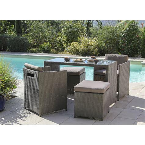 table et chaise de jardin en resine emejing salon de jardin terrasse en resine tressee
