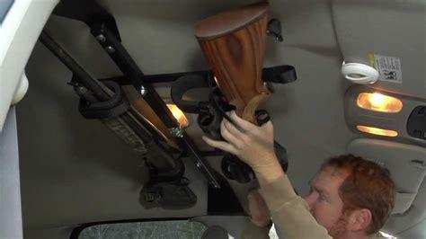 center lok overhead gun rack  trucks youtube