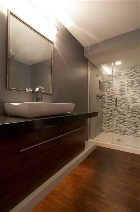 New Brighton Guest Bath  Modern  Bathroom Minneapolis