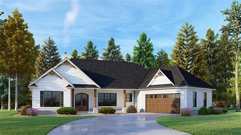 House Plan 52020 Craftsman Style with 2026 Sq Ft 3 Bed