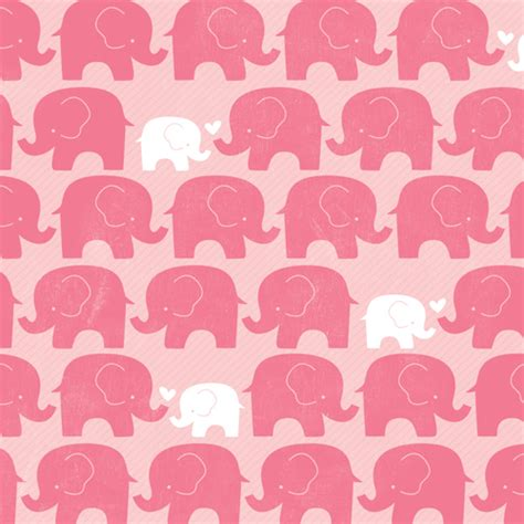american crafts imaginisce  baby pink elephants