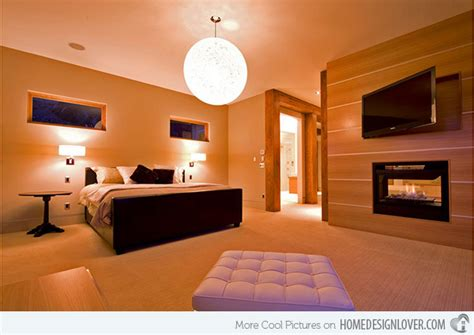 20 Modern Bedroom With Fireplace Designs House