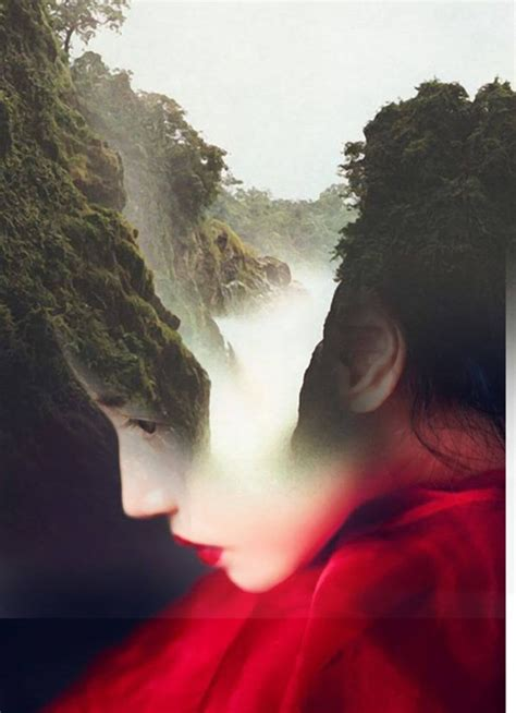 Curated Collection Of Hypnotic Double Exposure Portraits