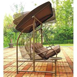 Menards Patio Swing Cushions by Home Trends North Hills Outdoor Swing Walmart Replacement