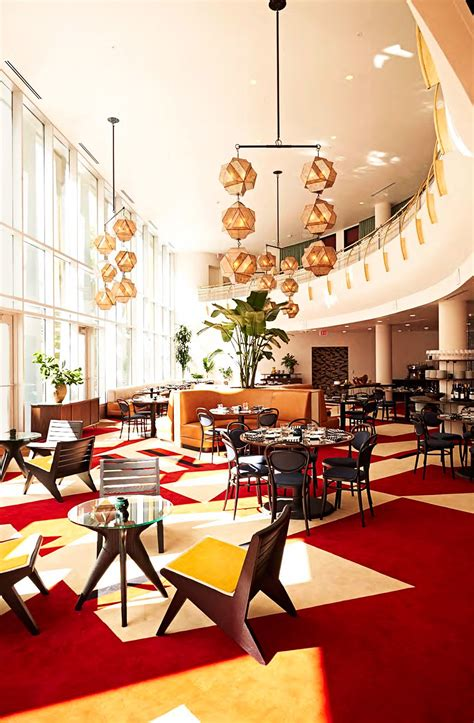 renovated midcentury modern hotels  architectural