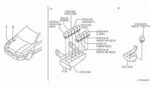 2001 Nissan Sentra Exhaust System Diagram