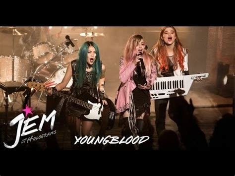 "Jem And The Holograms  Music Video ""youngblood"" Youtube"