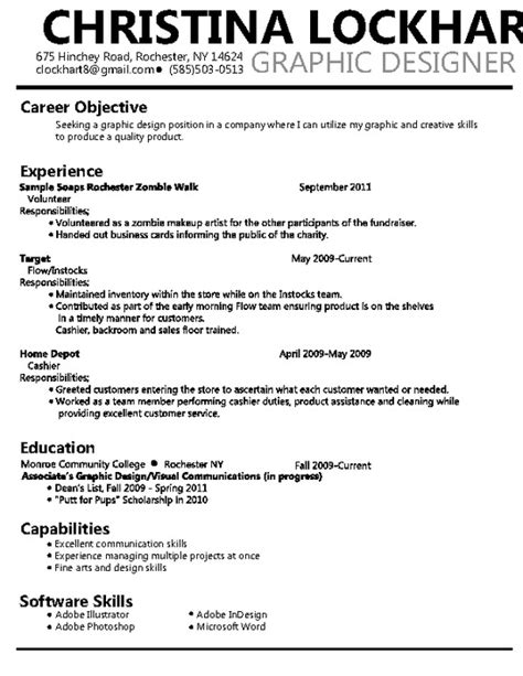 graphic design resume pdfsr
