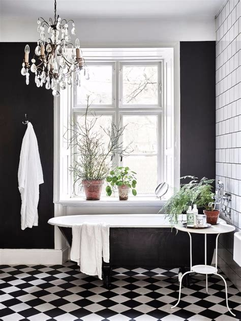Decoration Ideas For Bathrooms Black And White by Get Inspired With 25 Black And White Bathroom Design Ideas