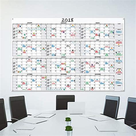 large dry erase wall calendar    undated blank